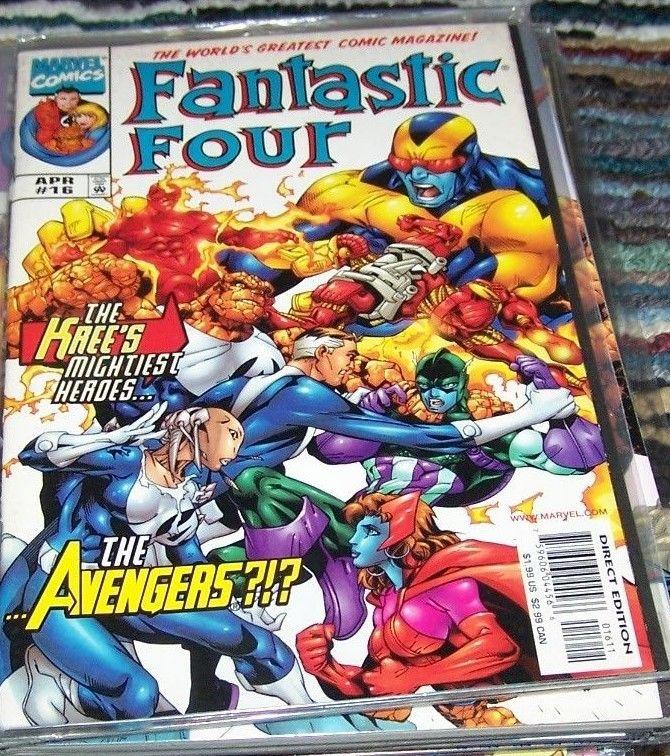 FANTASTIC FOUR #16 vol 3 1999 marvel- KREE AVENGERS-