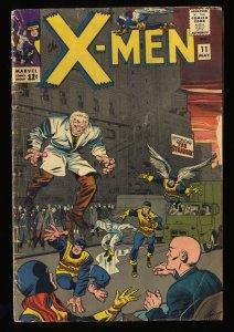 X-Men #11 GD 2.0 Marvel Comics