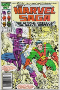 Marvel Saga  : Official History of the Marvel Universe   #15 FN