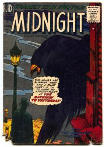 Midnight #2 1957-Ajax horror- raven cover G