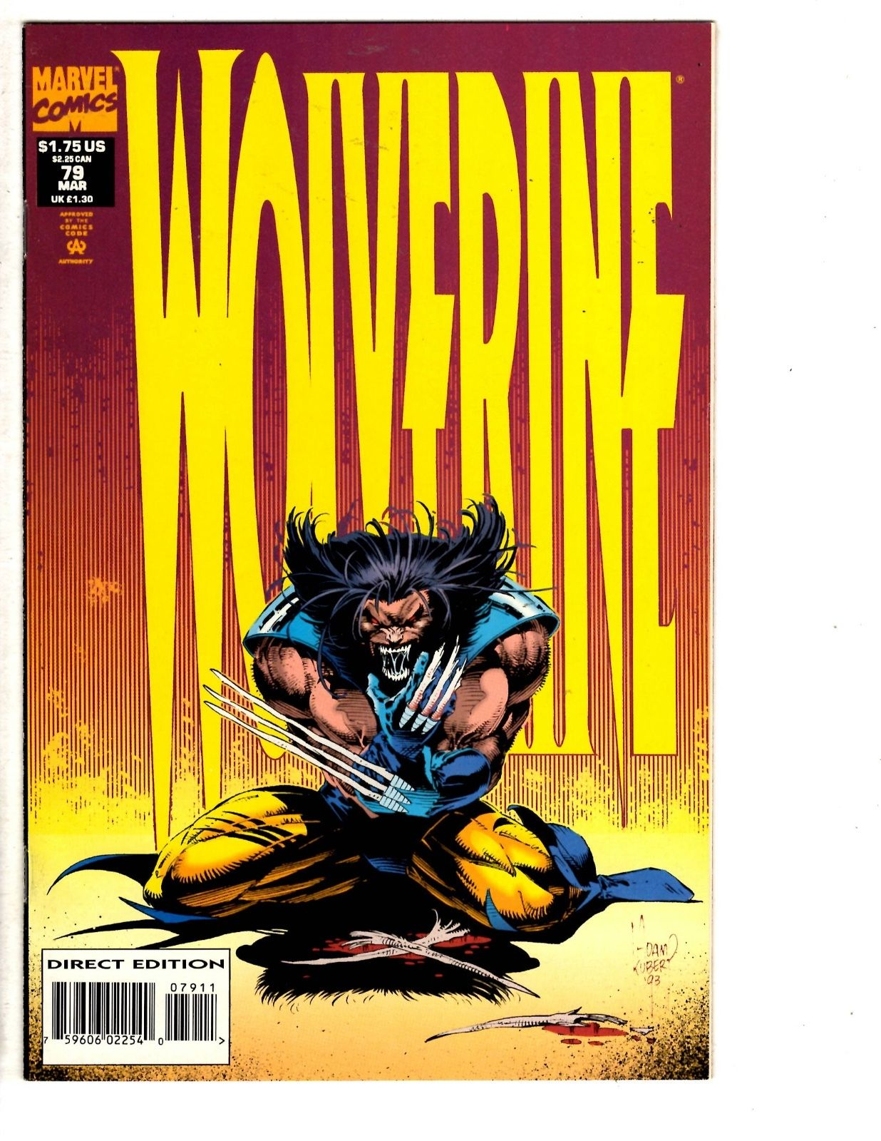 Comics 5 Wolverine Marvel Comic Books # 74 76 77 78 79 X-men Jubilee Sentinel Ms15