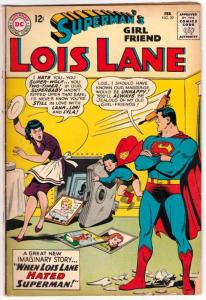 Lois Lane, Superman's Girlfriend  #39 (Feb-63) VG Affordable-Grade Superman, ...
