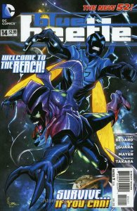 Blue Beetle (5th Series) #14 VF; DC | save on shipping - details inside
