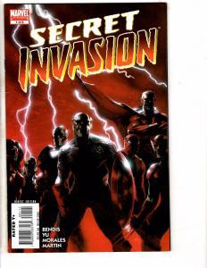Secret Invasion COMPLETE Marvel Comics LTD. Series # 1 2 3 4 5 6 7 8 1st Prt RC2