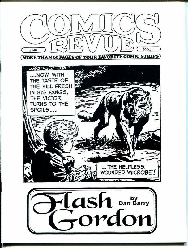 Comics Revue #146 1998-Dan Barry-Sky Masters-Phantom-Modesty Blaise-Tarzan-VF