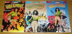 Valkyrie #1-3 VF/NM complete series - chuck dixon - paul gulacy - airboy nazis 2