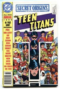 Secret Origins #3-1989-Teen Titans origin-comic book DC