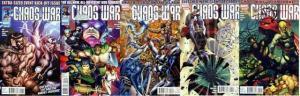 CHAOS WAR (2010) 1-5  Hercules, Silver Surfer, Thor
