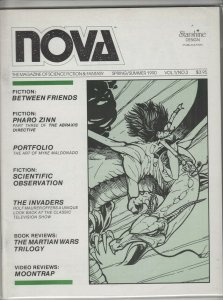 NOVA MAGAZINE OF SCIENCE FICTION #3 F+ A01207