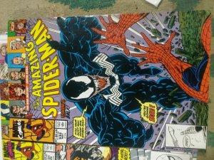 Amazing Spider-Man # 332 1990 MARVEL VENOM FLASH THOMPSON STYXX