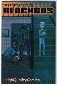 BLACK GAS #3, NM, Terror, Warren Ellis, Zombies, Undead, 2006, Horror