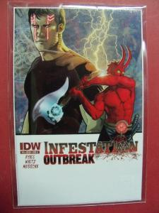 INFESTATION OUTBREAK  #3 COVER A  (9.0 to 9.4 or better)  IDW