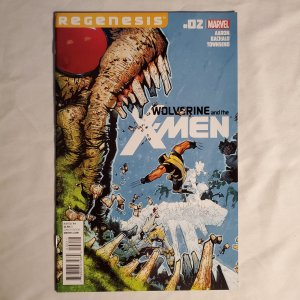 Wolverine and the X-Men 2 Very Fine/Near Mint Cover by Chris Bachalo