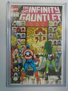 The Infinity Gauntlet #2 7.5 VF- (1991 1st Series)