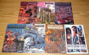 Chronicles of Wormwood: the Last Battle #1-6 VF/NM complete series + preview