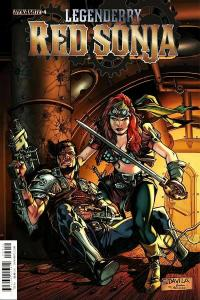 Legenderry Red Sonja #4 Cvr A (Dynamite, 2015) VF
