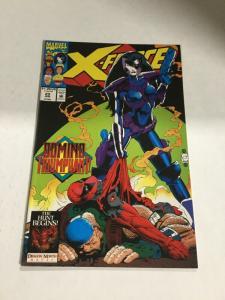 X-Force 23 Vf- Very Fine- 7.5 Domino Marvel