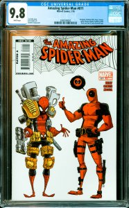 Amazing Spider-Man #611 CGC Graded 9.8 Deadpool, Madame Web, Anya Corazon, Sp...