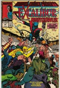Marvel Comics Presents: Excalibur Featuring Nightcrawler Issue 35!
