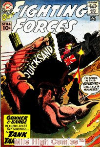OUR FIGHTING FORCES (1954 Series) #60 Very Good Comics Book