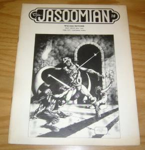 Jasoomian #10 FN edgar rice burroughs fanzine 1973 tarzan - frank frazetta art