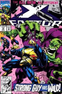 X-Factor (1986 series) #74, NM (Stock photo)