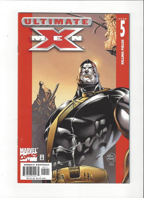 Ultimate X-Men #5(2001) Killing Fields Colossus NM