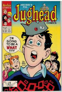 JUGHEAD 46 F-VF June 1993 I am going to be a what?