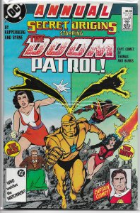 Secret Origins   vol. 3  Annual   #1 FN Doom Patrol, Captain Comet