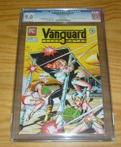 Vanguard Illustrated #2 CGC 9.0 pacific comics - dave stevens - 1st stargrazers