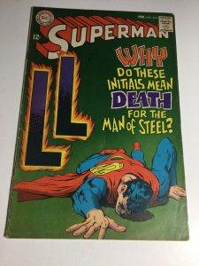 Superman 204 Fn Fine 6.0 DC Comics