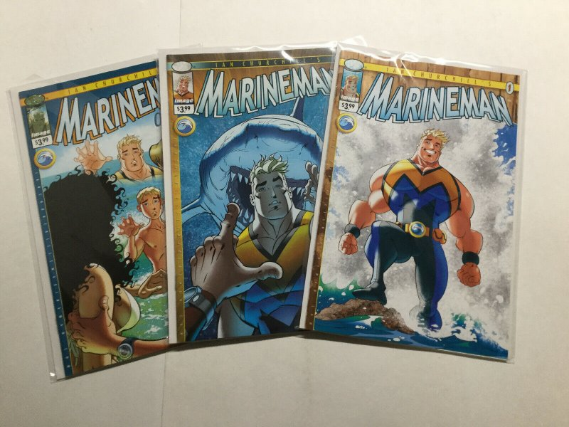 Marineman 1-3 1 2 3 Lot Run Set Near Mint Nm Image