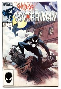 WEB OF SPIDER-MAN #1 comic book 1st VULTURIONS-MARVEL-1985 VF/NM