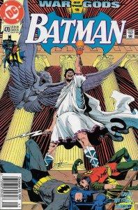 Batman #470 (Newsstand) FN; DC | save on shipping - details inside