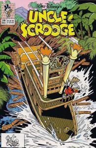 Uncle Scrooge (Walt Disney…) #249 VF; Gold Key | save on shipping - details insi
