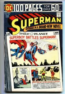 SUPERMAN #284 comic book 1975-DC 100 PAGES-GREAT ISSUE- FN/VF
