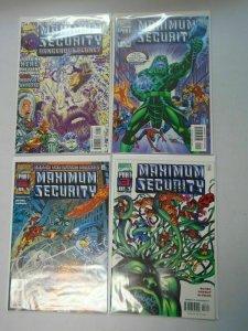 Marvel Maximum Security Set: #1-3 + Bonus Near Mint (2000)