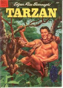 TARZAN 61 FINE    October 1954 COMICS BOOK