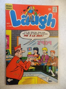 LAUGH # 200 ARCHIE COMICS JUGHEAD JOSIE BETTY HUMOR