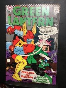 Green Lantern #50 (1967) high-grade 50th issue key! First Thraxon! VF+ Wow!