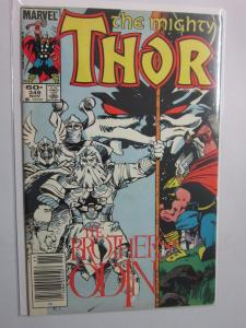Thor (1962-1996 1st Series Journey Into Mystery) #349 - VF+ 8.5 - 1984