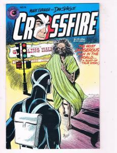 Crossfire #15 VF/NM Eclipse Comics Comic Book Evanier 1985 DE47 AD33