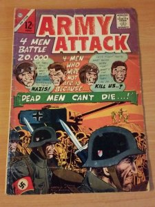 Army Attack #39 ~ VERY GOOD VG ~ 1965 Charlton Comics