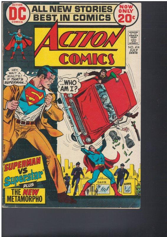 Action Comics #414 (DC, 1972)