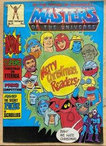 MASTERS OF THE UNIVERSE #20 (Marvel UK,1986) VG (VERY GOOD)  He-Man, Hordak