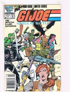 G.I.Joe Order Of Battle # 2 VF/NM Marvel Comic Books Snake Eyes Duke Cobra!! SW9