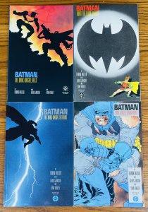 BATMAN THE DARK KNIGHT RETURNS #1-4 FRANK MILLER ALL FIRST PRINT DC Comics 1986