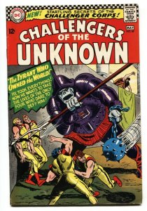 Challengers Of The Unknown #49 1966- DC Silver Age-1st Challenger Corps