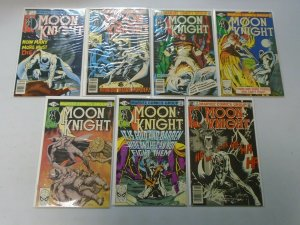 Moon Knight Comic Lot (1st Series) From #2-36 21 Diff Average 6.0 FN (1980-1984)