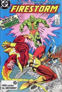 Fury of Firestorm (1982 series) #58, NM- (Stock photo)